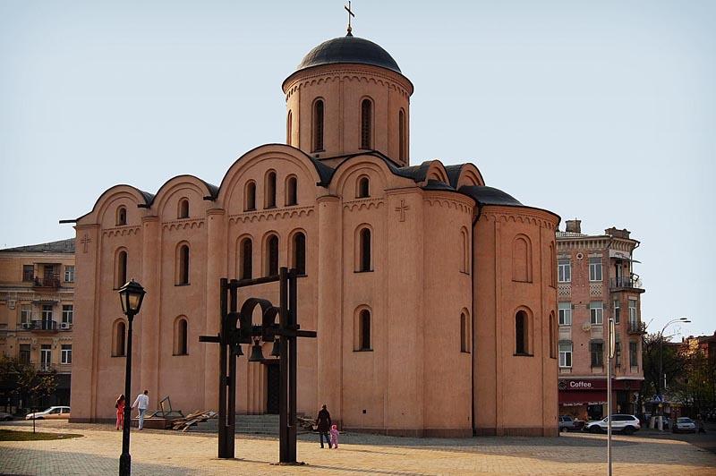 церковь Богородицы Пирогощи