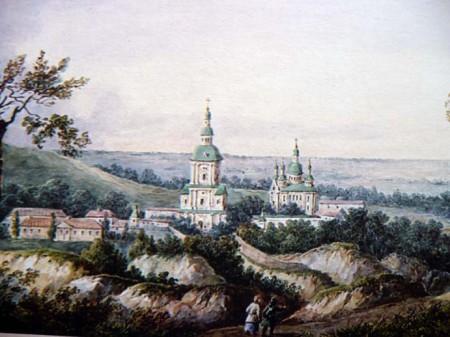 Федор Солнцев «Кирилловская церковь»